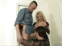 hely shares cock with a horny guy @ husband wife cock swappers #02